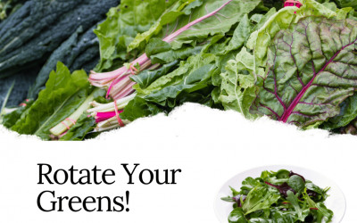 Rotate Your Greens