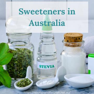 Sweeteners Australia THM keto